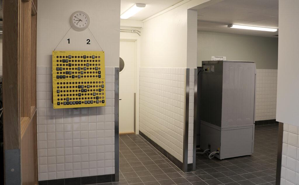 Avslutad renovering av fastighetstvättstugor, flerbostadshus Göteborg - Kaborn Jensen Bygg AB