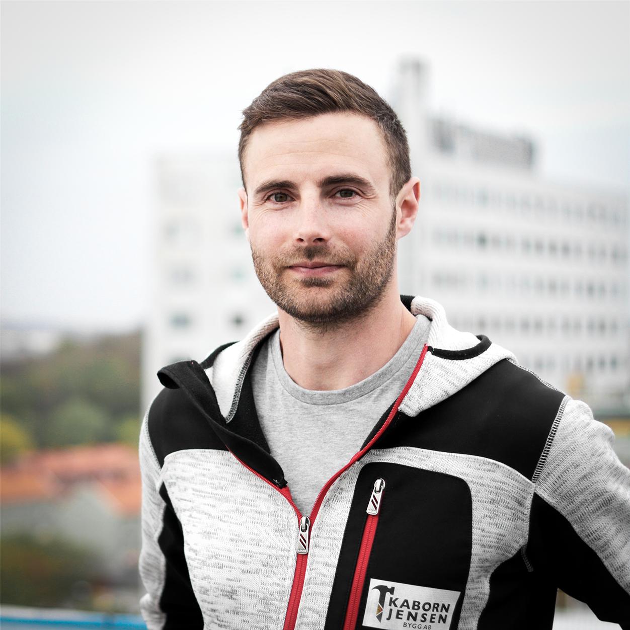Christoffer Voegelen Jensen – Projektledare, Kaborn Jensen Bygg AB