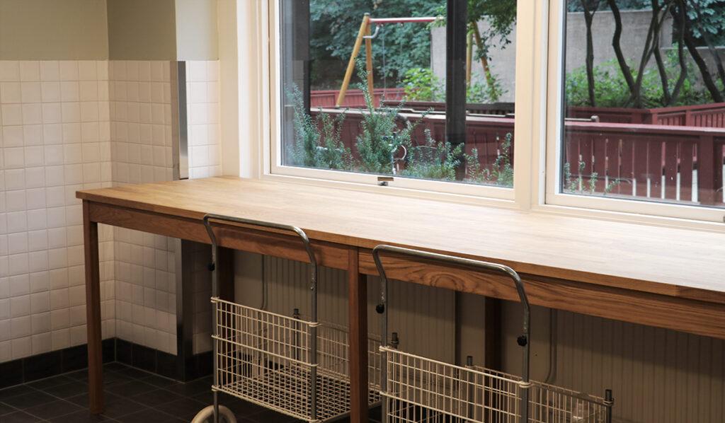 Renovering av fastighetstvättstugor, hyreshus Göteborg – Kaborn Jensen Bygg AB
