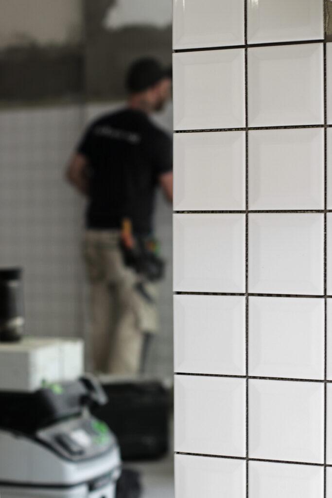 Renovering tvättstuga - Kaborn Jensen Bygg AB