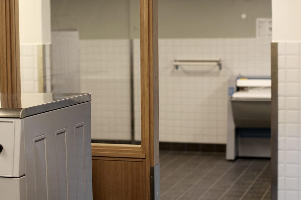 Efter renovering av fastighetstvättstugor, flerbostadshus i Göteborg - Kaborn Jensen Bygg AB