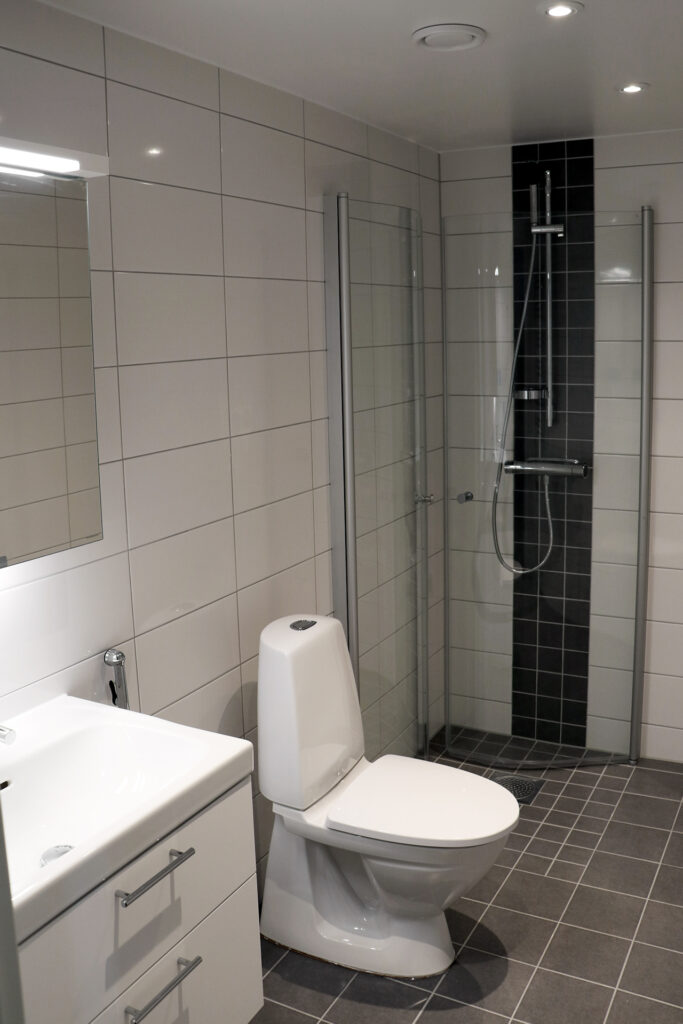 Efter avslutat stambyte bostadsrättsförening i Göteborg Kaborn Jensen Bygg AB