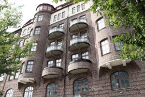 Efter balkongrenovering brf Skånegatan Göteborg - Kaborn Jensen Bygg AB