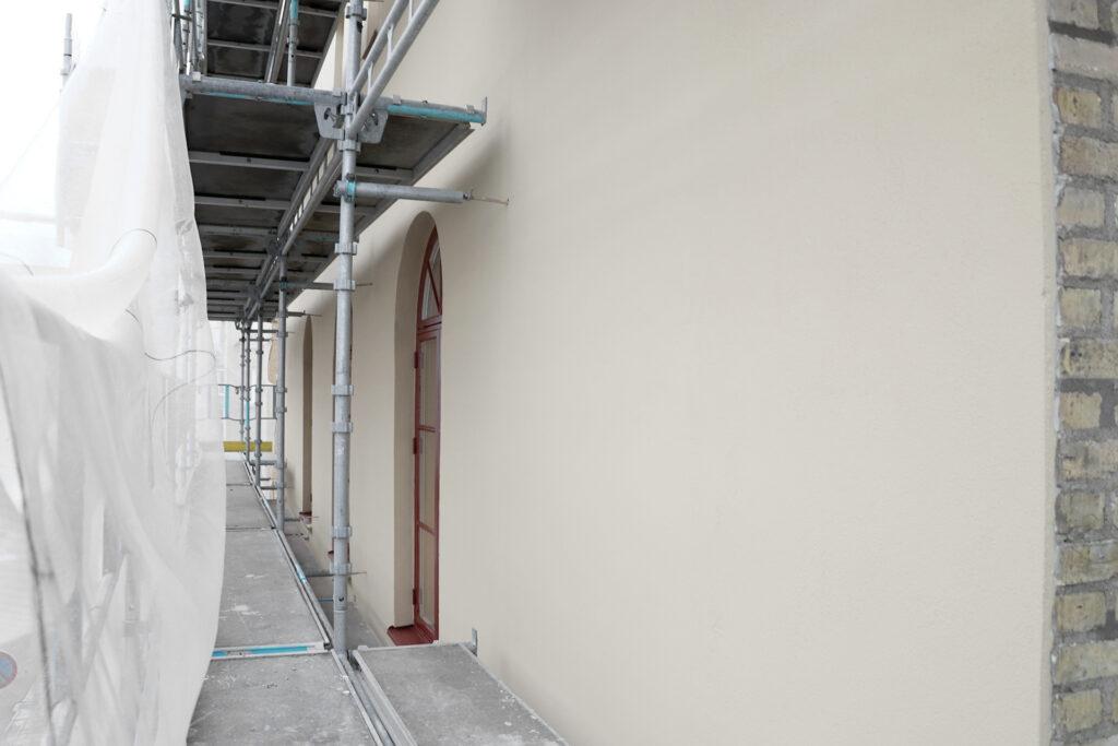 Efter fasadrenovering, kontorsfastighet i Göteborg - Kaborn Jensen Bygg AB