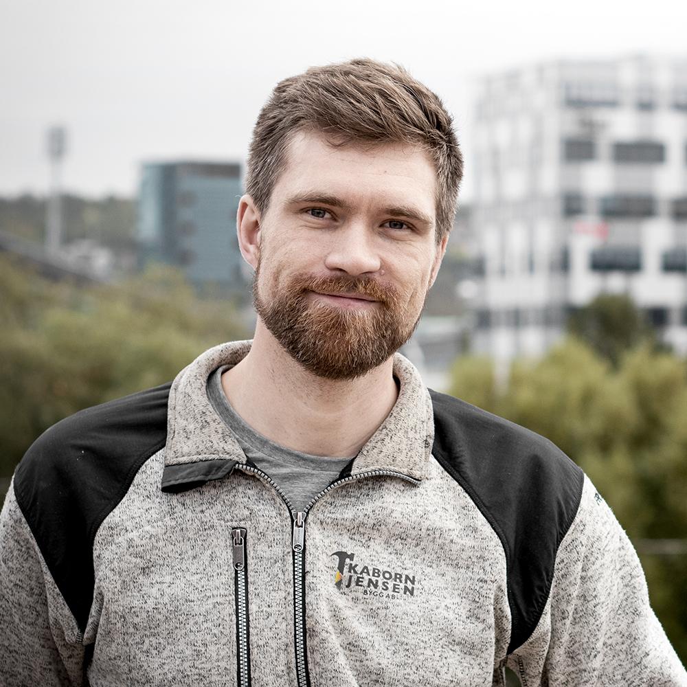Isak Mølster – Arbetsledare, Kaborn Jensen Bygg AB