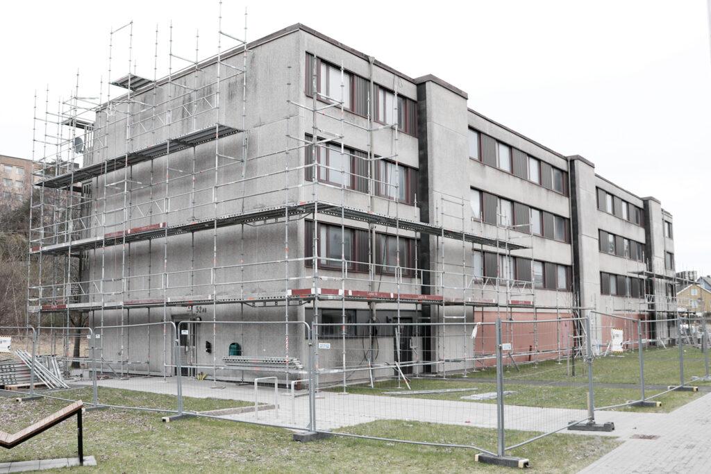 Långströmsgatan, referensprojekt stambyte, hyreshus i Göteborg - Kaborn Jensen Bygg AB